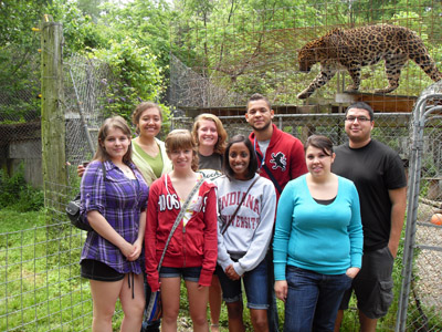 2011 Research Experience for Undergraduates (REU) students.