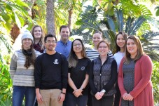 Spring 2018 Demas lab photo.