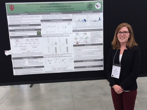 Kristyn presents her research at the 2018 Experimental Biology meeting in San Diego, California.