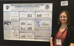 Kat presents her research at the 2018 International Congress of Neuroendocrinology in Toronto, Canada.