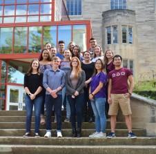 Fall 2018 Demas lab photo.