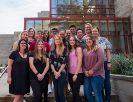 Fall 2019 Demas lab photo.