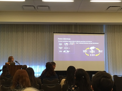 Beth presents her research at the Society for Integrative and Comparative Biology's 2020 meeting in Austin, Texas.