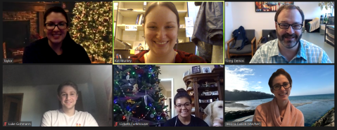 The Demas lab Christmas Party goes virtual in 2020!
